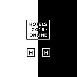 Logo design for Hotels2018
